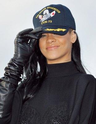 Rihanna promuje swój nowy film – Battleship (FOTO)
