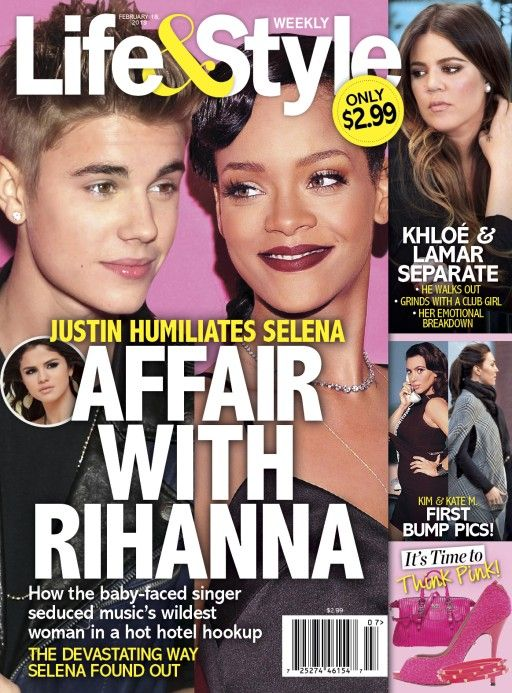 Justin Bieber i Rihanna mieli ROMANS?