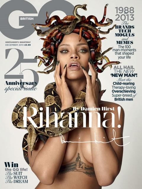 Rihanna jako Meduza (FOTO)
