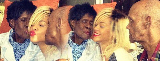 Dziadkowie Rihanny to prawdziwe ziomki (FOTO)