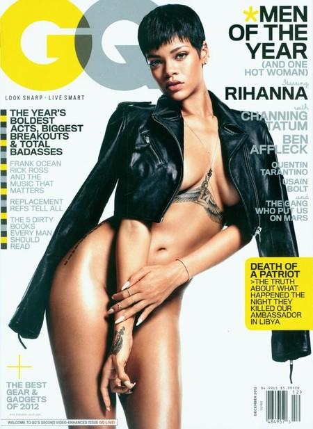 Naga Rihanna na okładce GQ (FOTO)