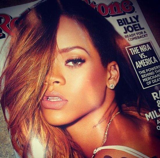 Rihanna po raz kolejny na okładce Rolling Stone (FOTO)