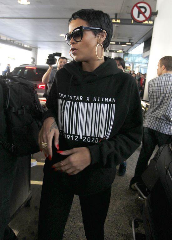 Rihanna na chwilę rezygnuje z bycia sexy (FOTO)