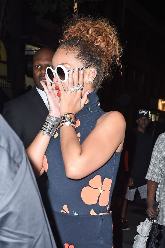 Rihanna przy�apana na randce z Travisem Scottem!