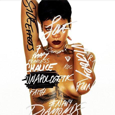 Nieocenzurowane zdjęcie Rihanny z okładki płyty (FOTO)