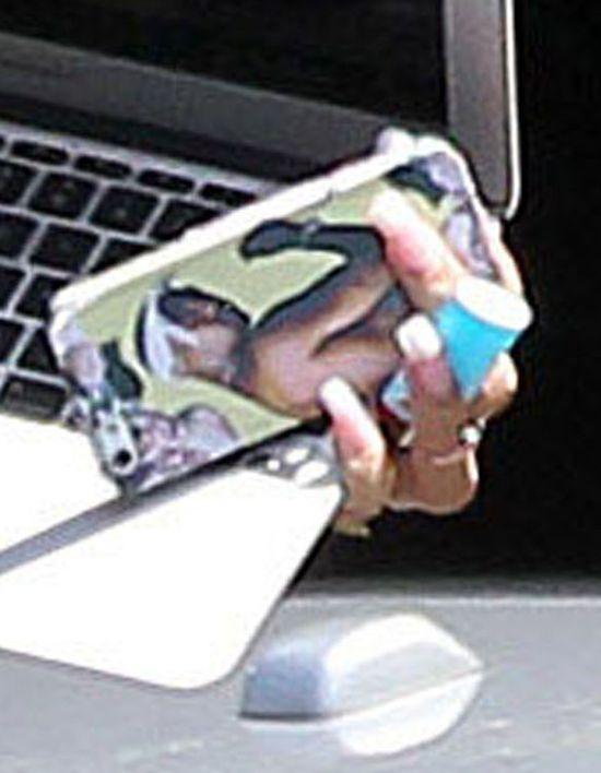 Rihanna w dodze do studia
