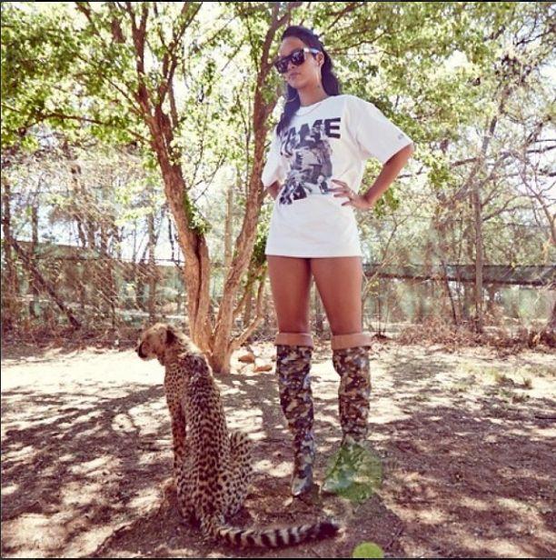 Rihanna: S*ka, wygląda jak ja!