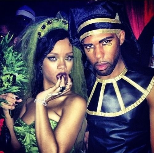 Rihanna przebrana za marihuanę (FOTO)