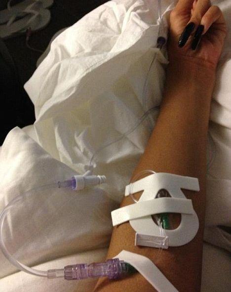 Szpitalna sweet focia Mariah Carey (FOTO)