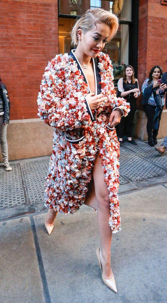 Rita Ora ociera się o styl Kim Kardashian (FOTO)