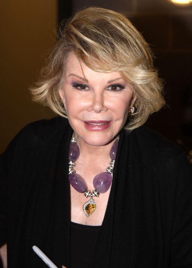 Jak Joan Rivers m�wi�a o swojej �mierci
