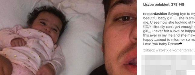 Zdjęcie i komentarz Roba Kardashiana łamią serce (Instagram)