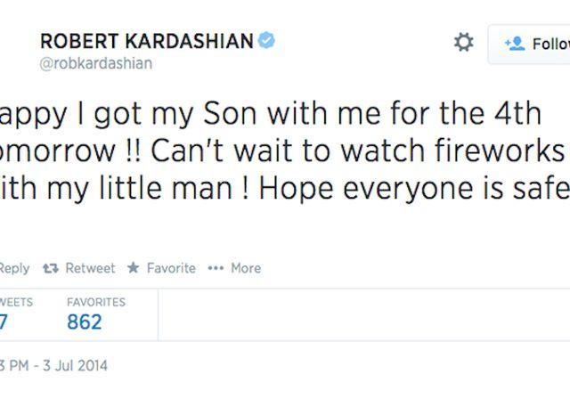Szokujący sekret Roba Kardashiana