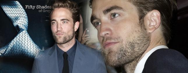 Robert Pattinson zagra w adaptacji 50 shades of Grey?
