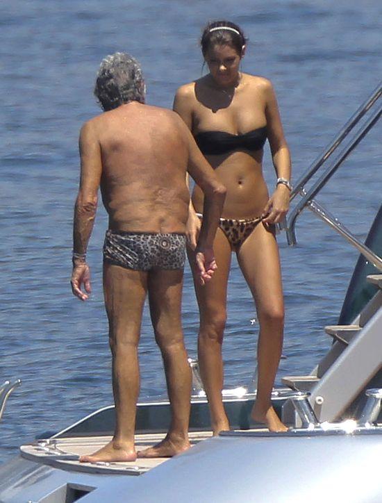 Tak odpoczywa Roberto Cavalli