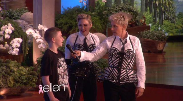 Syn Madonny to sympatyczny nastolatek (VIDEO)