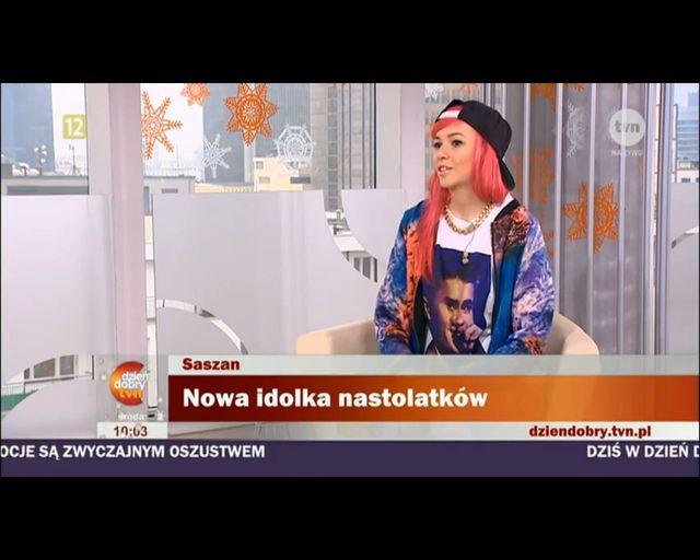 Roksana Pindor Saszan nową gwiazdą? [VIDEO]