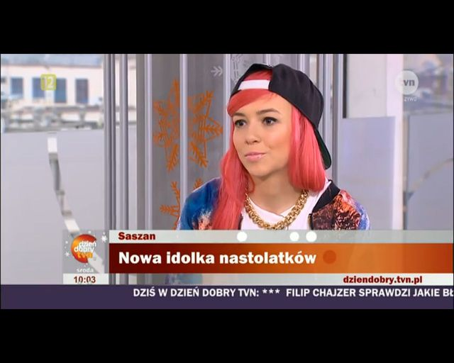 Roksana Pindor Saszan now� gwiazd�? [VIDEO]