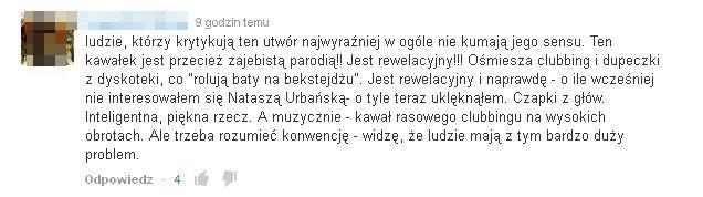 Natasza Urbańska niesłusznie skrytykowana?! (VIDEO)