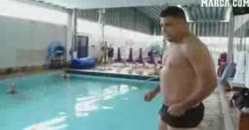 Ronaldo schudł 14 kilogramów (VIDEO)
