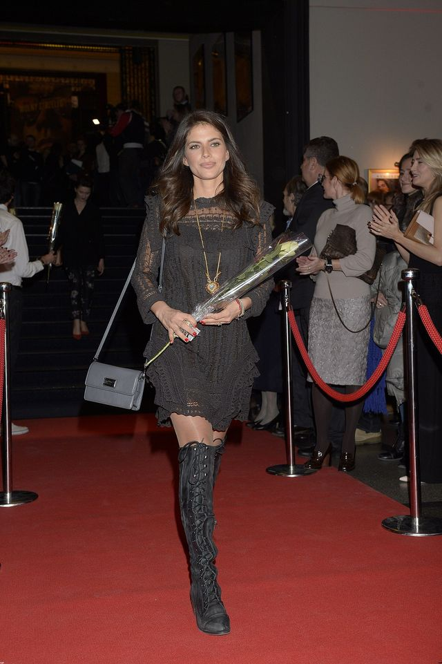 Weronika Rosati na premierę przyszła z... (FOTO)