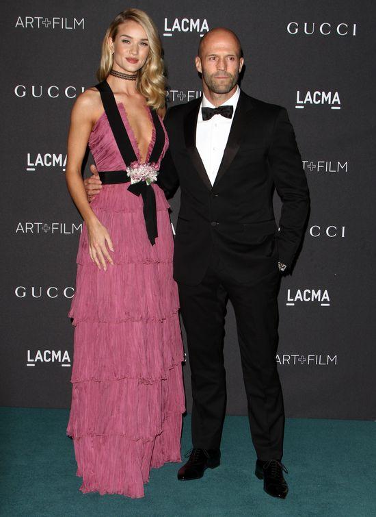 Jason Statham nie lubi, gdy Rosie zakłada szpilki? (FOTO)