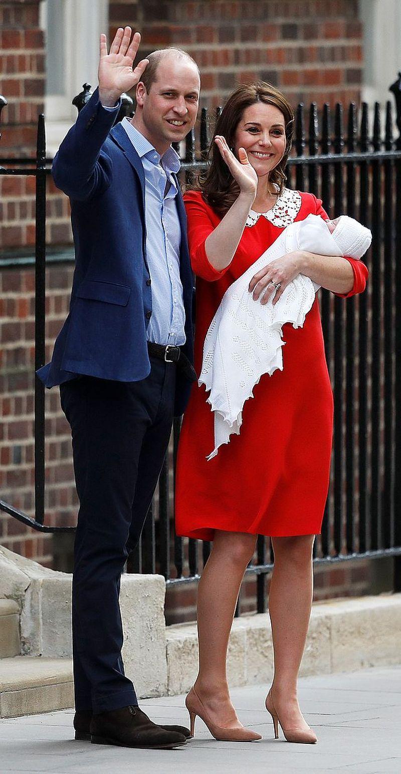 To ONI będą rodzicami chrzestnymi księcia Louisa?