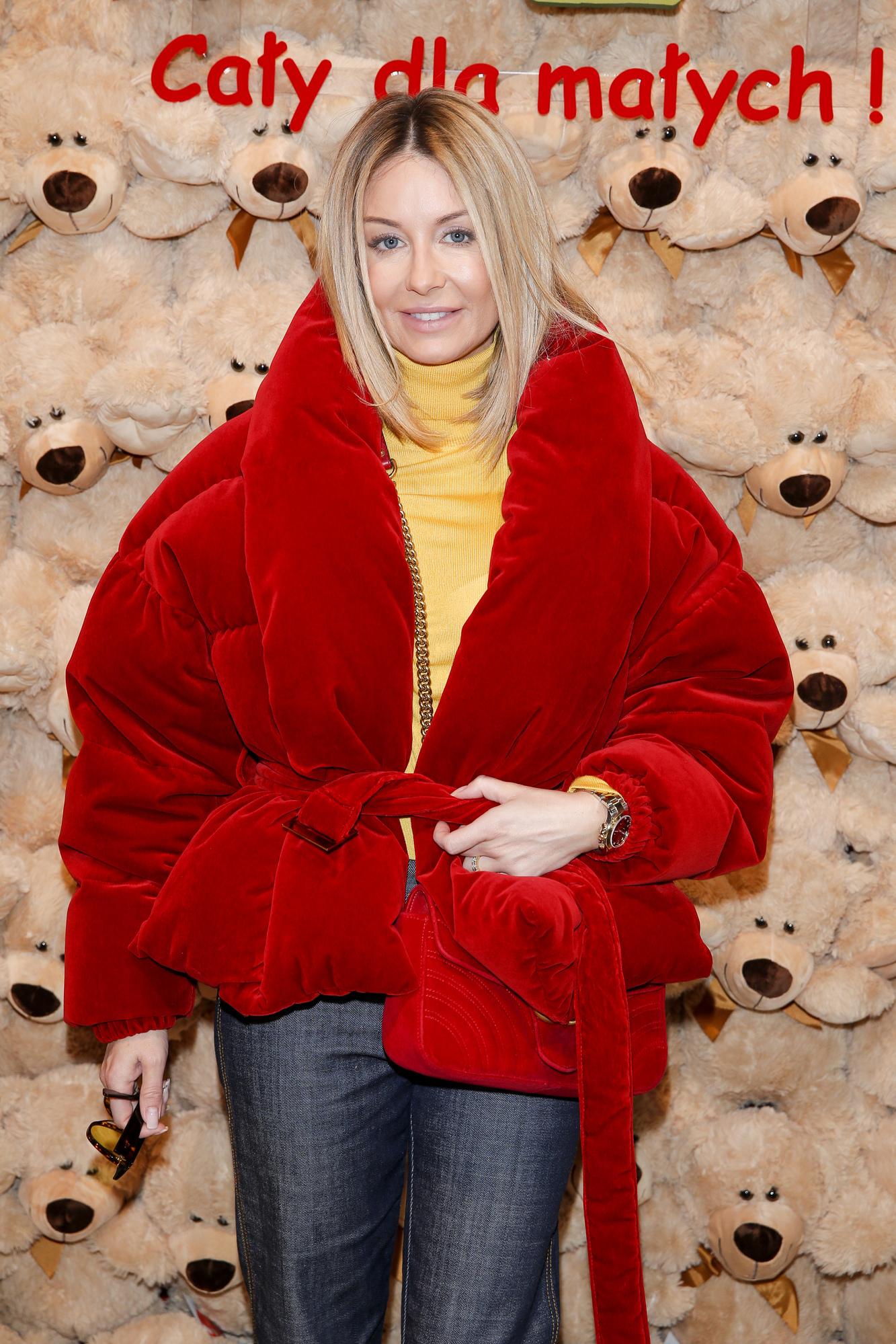 Wow! Małgorzata Rozenek w różowej stylizacji na imprezie we Włoszech