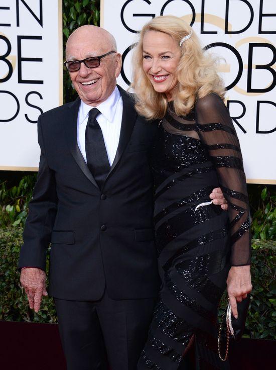84-letni Rupert Murdoch żeni się z Jerry Hall!