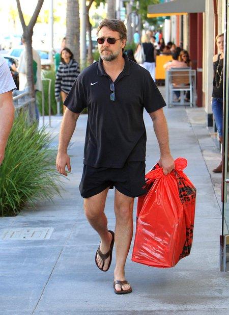 Na co dzień Russell Crowe zupełnie o siebie nie dba (FOTO)