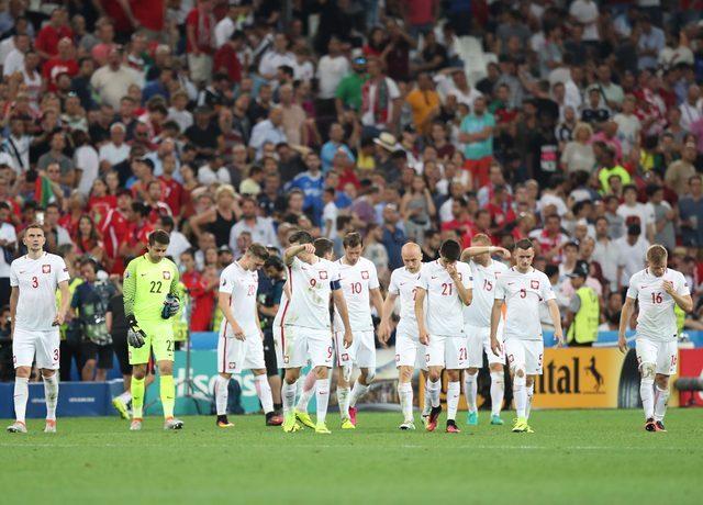 Polscy kibice sugerują błąd sędziego w czasie meczu z Portugalią
