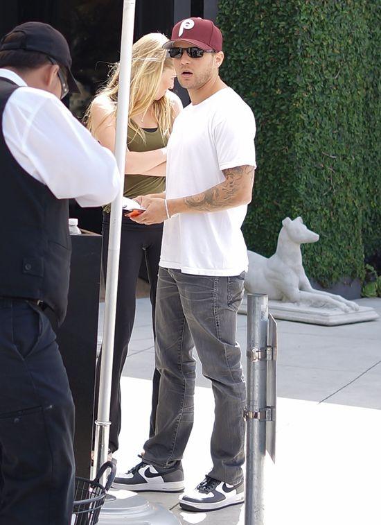Ryan Phillippe i jego dziewczyna z camel toe