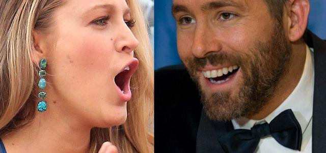 Ryan Reynolds BOSKO trolluje Blake Lively