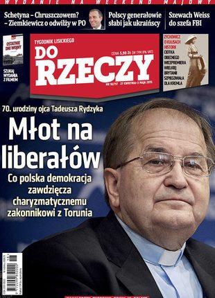 Ojciec Rydzyk o 20 milionach dla szkoły w Toruniu