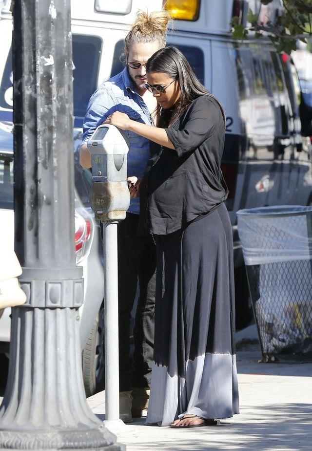 Zoe Saldana urodziła!