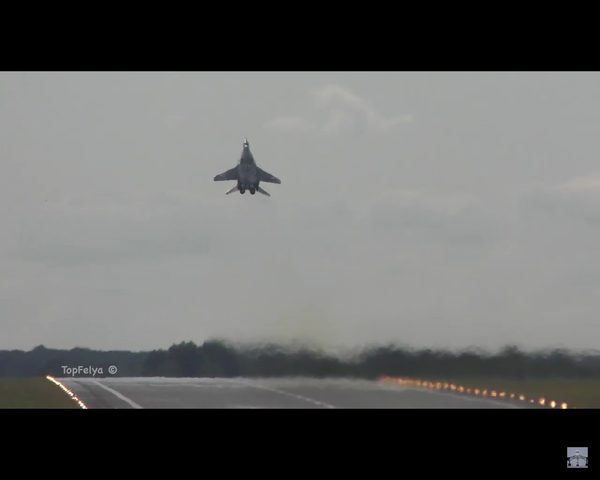 Kapitan Adrian Rojek i jego MiG-29 bohaterami internetu