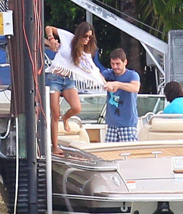 Carbonero i Casillas wypoczywają na Florydzie (FOTO)