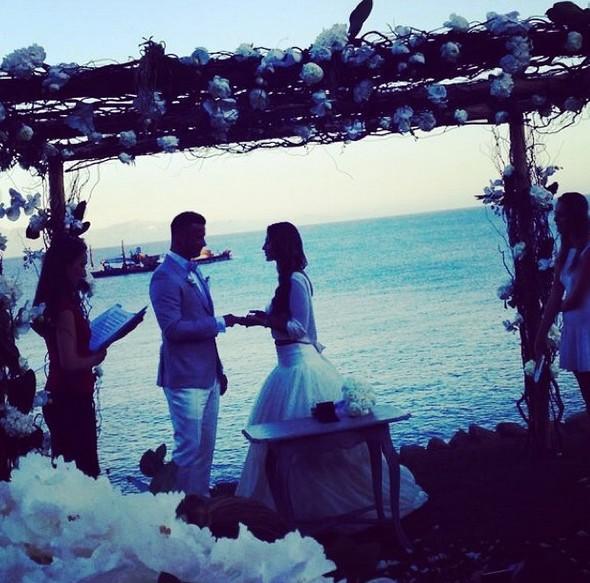 Sara Boruc pochwaliła się 1. rocznicą ślubu (Instagram)