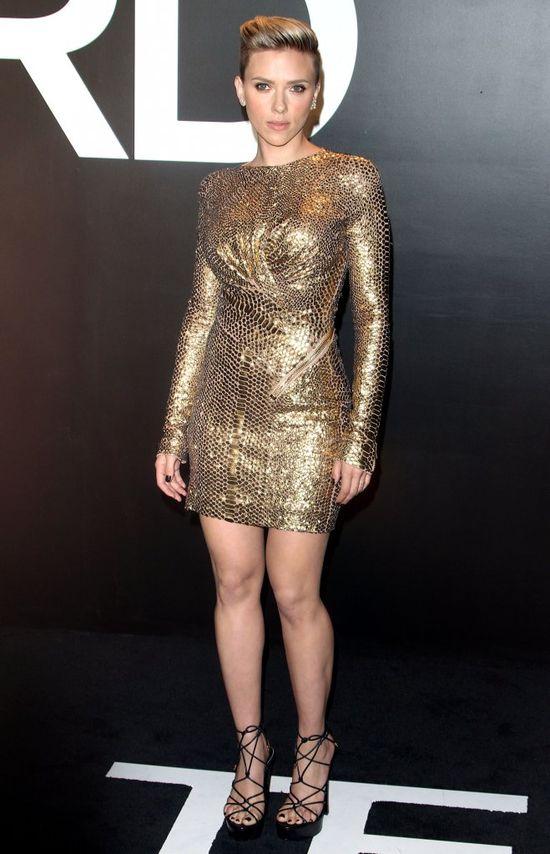Szczuplutka Scarlett Johansson zachwyciła na salonach?