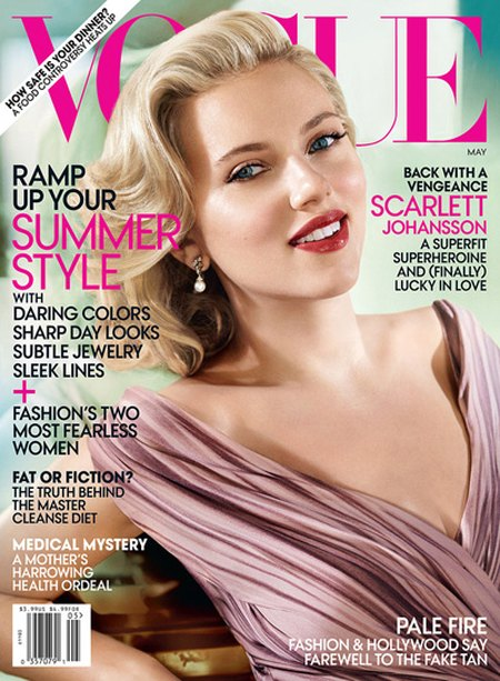 Scarlett Johansson w majowym Vogue (FOTO)