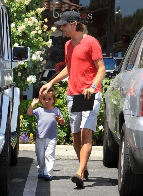 Scott Disick zajmuje się synem (FOTO)