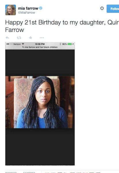 Internet przeciera oczy ze zdumienia: co robi Mia Farrow?!