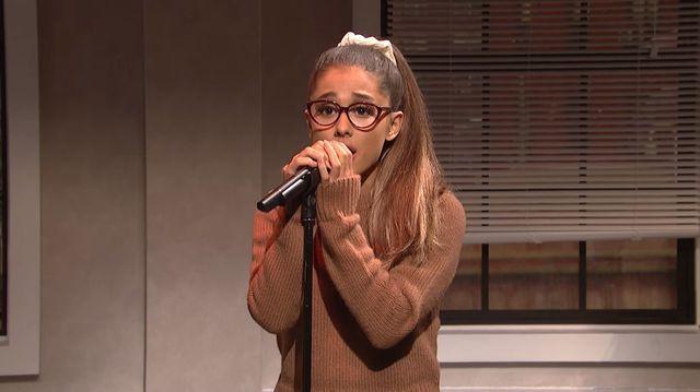 Ariana Grande w mega improwizacji w Saturday Night Live!