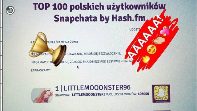 Littlemooonster96, czyli Angelika Mucha, zdetronizowała Maff