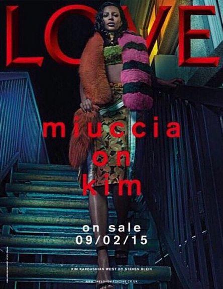 Kim Kardashian znów pokazuje gołą pupę w sesji dla Love FOTO