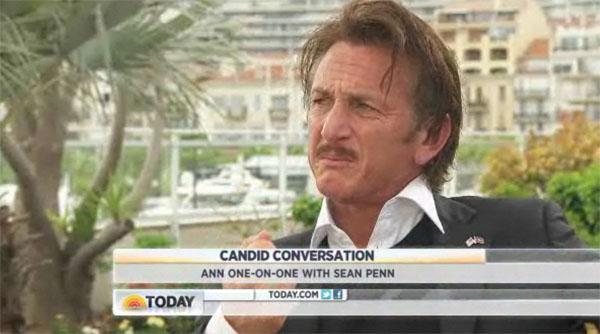 Dlaczego Sean Penn rozp�aka� si� podczas wywiadu? (VIDEO)