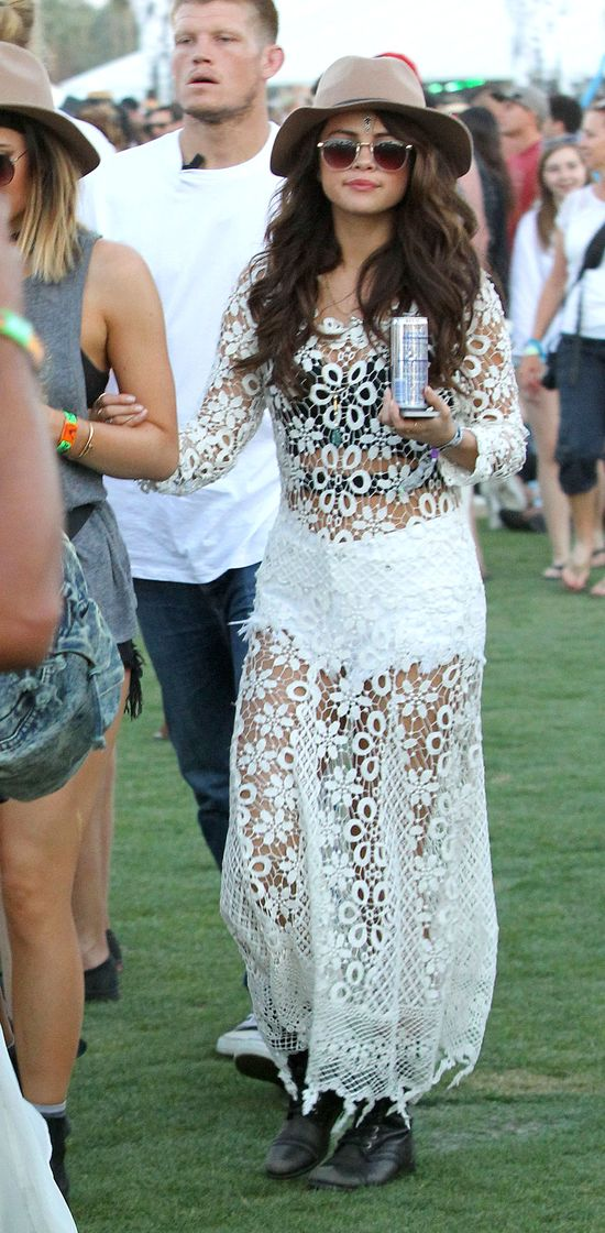 Jennerki i Selena Gomez razem na Coachelli (FOTO)