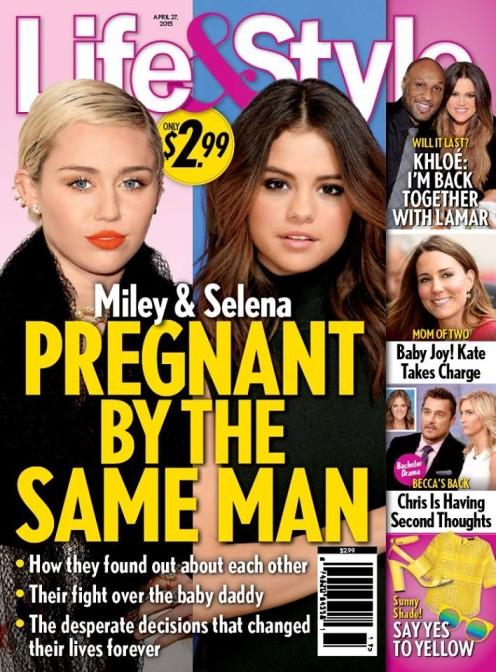 Miley i Selena zap�odnione przez Justina Biebera?!