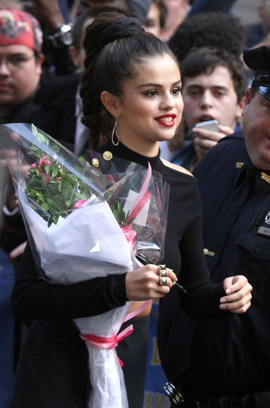 Selena Gomez kusiła u Davida Lettermana (FOTO+VIDEO)
