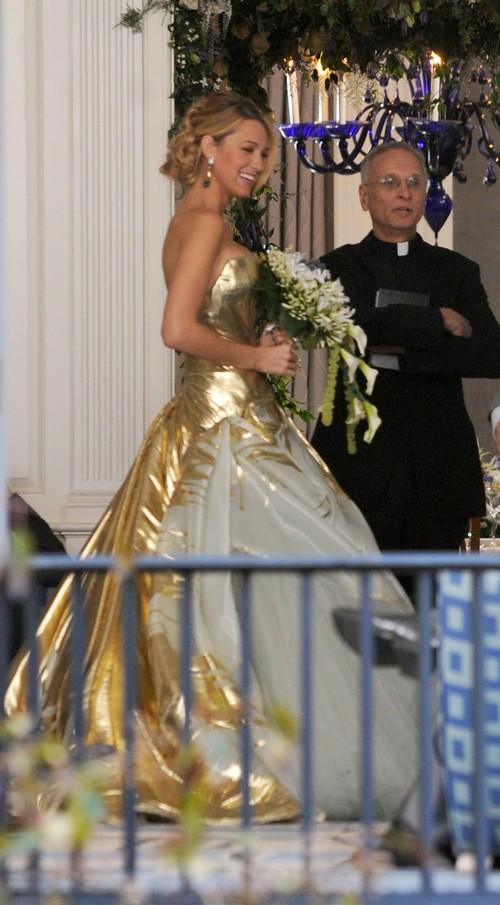 Blake Lively jako panna młoda w Plotkarze (FOTO)